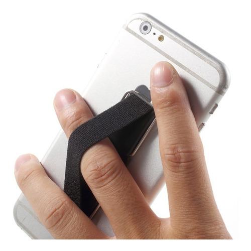 finger grip 2 en 1 agarre celulares anti caidas + soporte