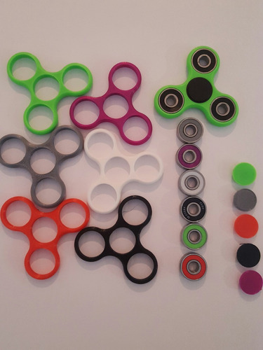 finger toy - hand spinners -  belgrano - ruleman vrs colores