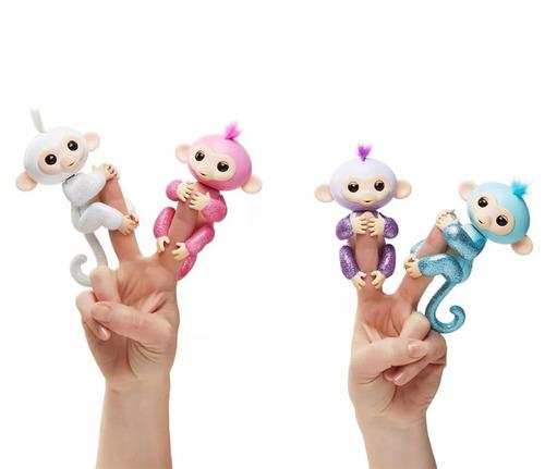 fingerlings monkey baby - mascota interactiva -