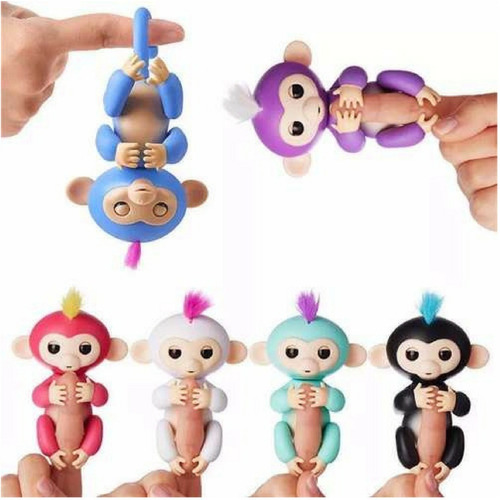 fingerlings monkey monitos interactivos 40 sonidos