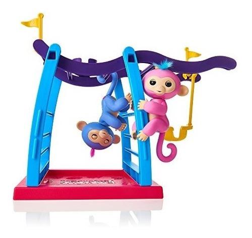 fingerlings playset-monkey bar / swing puppet, monkey bar /