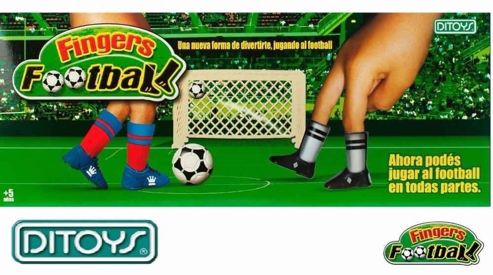 Fingers Football Juego De Mesa Futbol Para Dedos Ditoys 399 90