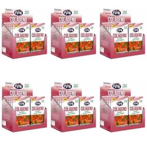 fini balas natural sweets colágeno 12x18g (kit c/06)