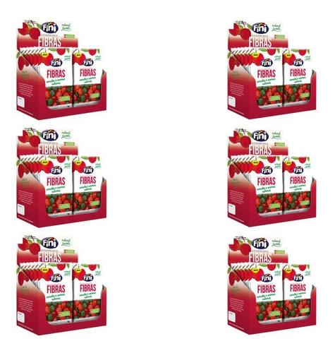 fini balas natural sweets fibras 12x18g (kit c/06)