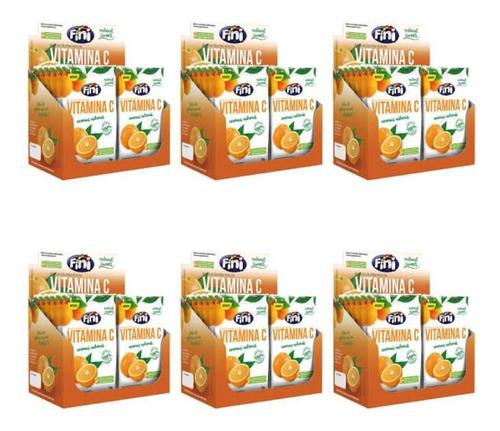 fini balas natural sweets vitamina c 12x18g (kit c/06)