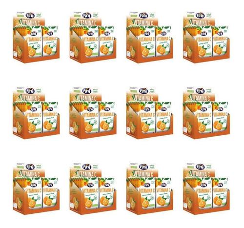 fini balas natural sweets vitamina c 12x18g (kit c/12)