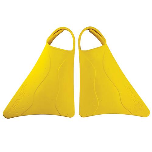 finis kids fishtail 2aletas, amarillo, us junior 611