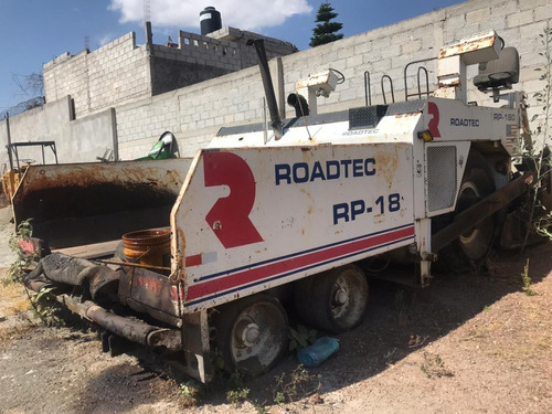 finisher roadtec pavimentadora autopropulsada rp180 1999