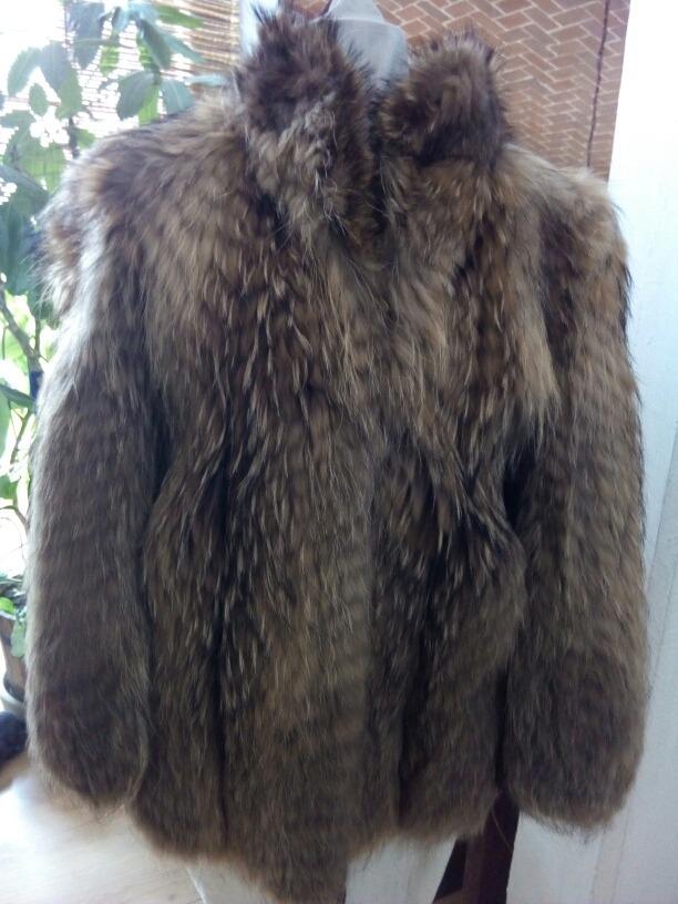 Abrigos de piel de tejon