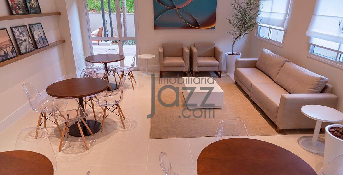finíssimo apartamento alto padrão com 2 dormitórios à venda, 61 m² por r$ 420.000 - botafogo - campinas/sp - ap2112