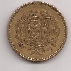 finlandia moneda de 10 markkaa año 1938 escasa !!!
