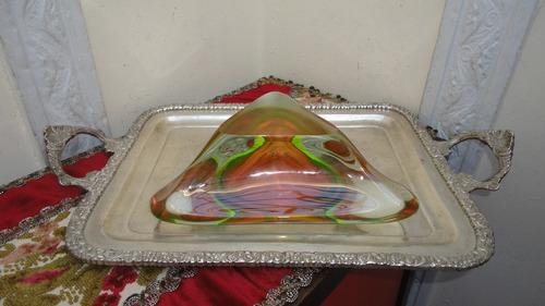fino centro antiguo en cristal murano para decorar vealo