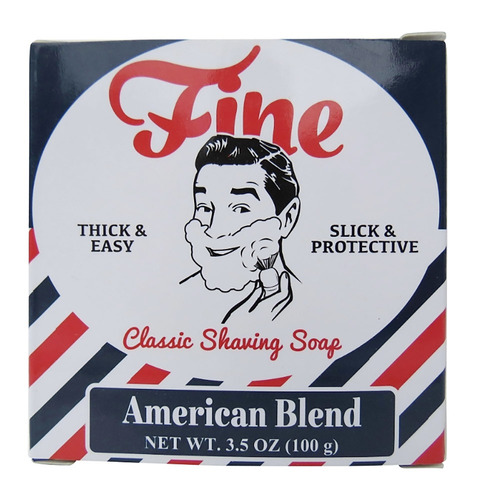 fino clásico de la espuma de afeitar, american blend