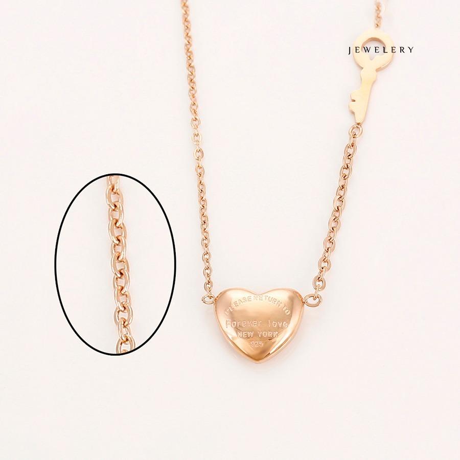 74aefc1d31d1 fino collar tous corazón llave oro rosa 18k lam + estuche. Cargando zoom.