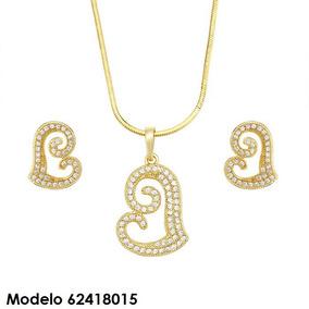 ea46f9b0d6e5 Aretes Oro Puro 14k - Collares y Cadenas en Mercado Libre México