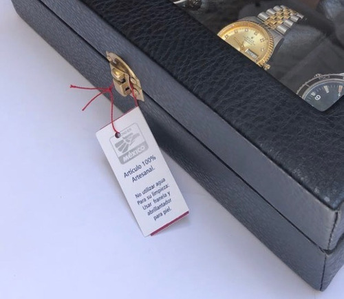 fino estuche 12  relojes personalizado  envio express gratis