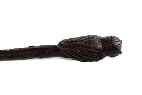 fino, hecho a mano, varita mágica, madera maciza, tallada