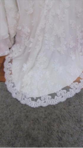 fino vestido novia