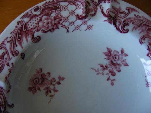 fino y hermoso cenicero de porcelana hecho en alemania