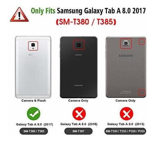 finta carcasa de silicona para samsung galaxy tab a 8.0 2017