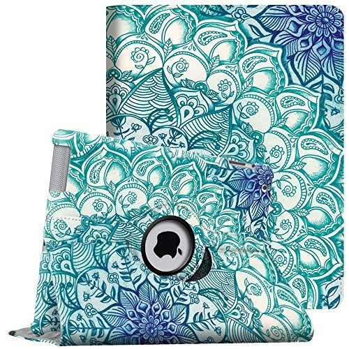 fintie apple ipad 2/3/4 case - funda giratoria de 360 ¿¿grad