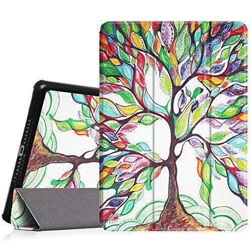 fintie ipad air case - cubierta elegante ultra ligero del so