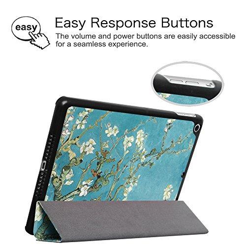 fintie ipad air case - cubierta ultra delgada de peso ligero