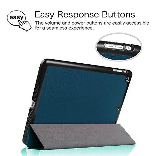 fintie ipad air case - ultra ligero peso ligero stand smart
