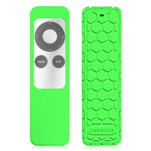 fintie protective case for apple tv 2 3 remote controller -