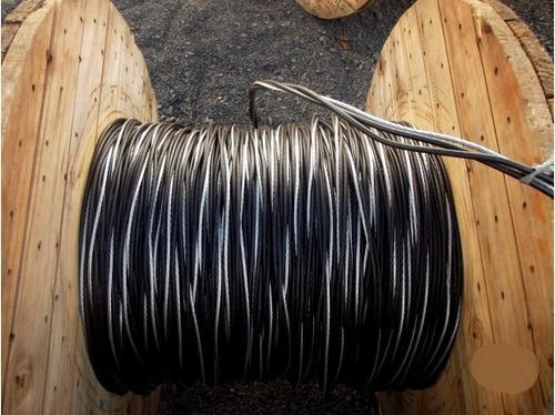 fio cabo alumínio multiplex duplex 2x25mm²  rolo 130 metros