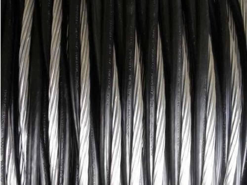 fio cabo aluminio triplex 10mm neutro nu com 150 metros