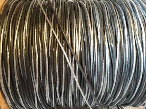 fio cabo de aluminio multiplex duplex 2 x 10mm com 50 metros