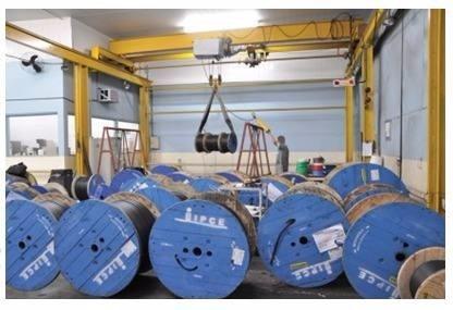 fio cabo de aluminio triplex 3 x 70mm c/ 340  metros