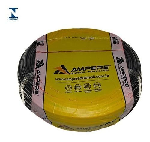 fio cabo eletrico flexível 4mm 100m ampere full
