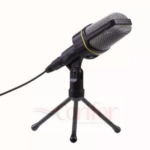 fio condensador microfone com