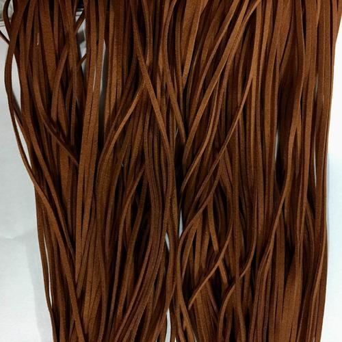 fio cordão couro tira camurça suede pulseira colar 2.7mm 10m