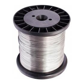 Fio De Aço Inox Para Cerca Eletrica 0,60mm