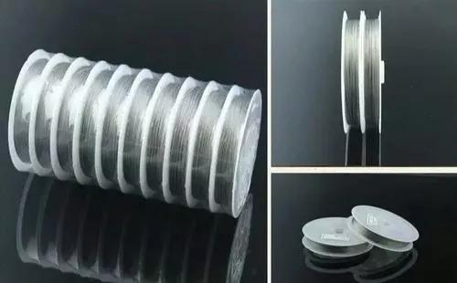 fio de aço inox para fazer lustre de cristal