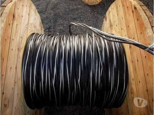 fio de aluminio multiplex quaduplex 4x10 mm rolo 120 metros