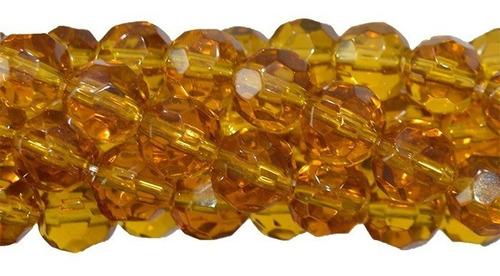 fio de contas de cristal vidro 8mm atacado varias cores