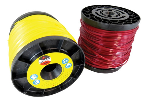 fio de nylon 2,6 mm quadrado 2kgs 280mts power max