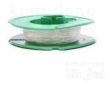 fio de silicone para artesanato, colar, pulseira, mini terço