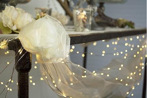 fio fada led para balão transparente enfeite festa realeza