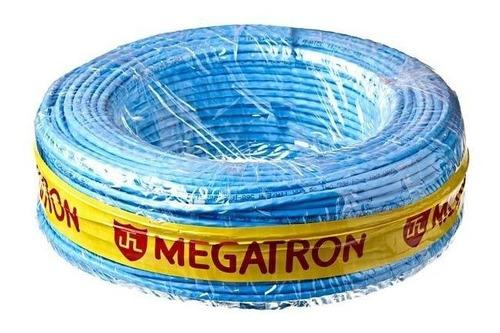 fio flexivel 16mm megatron com 25 mts preto + 25 mts azul