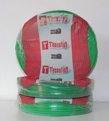 fio flexível cobre 4mm verde com 100 metros
