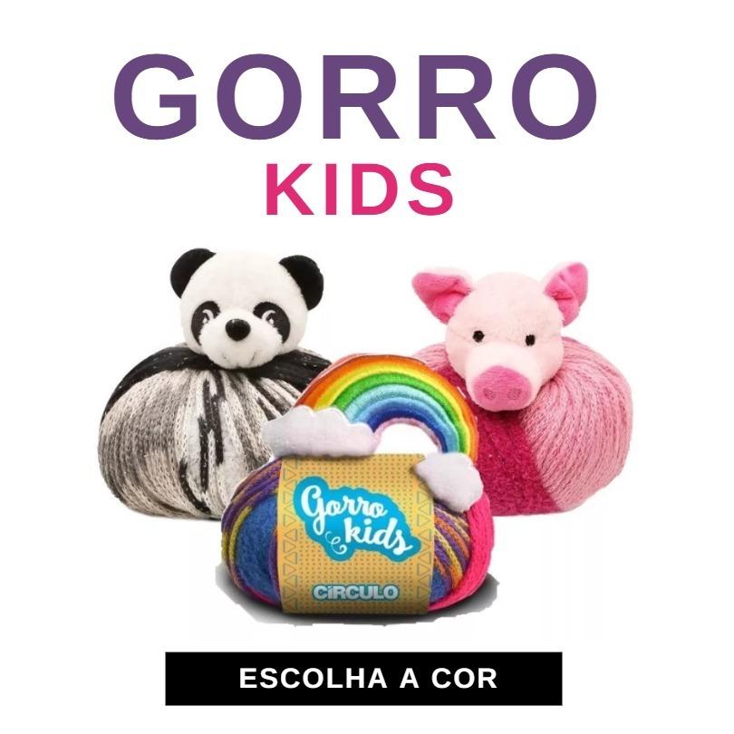 Fio Lã Gorro Kids 100g Círculo - Crochê E Tricô - Promoção! - R  22 ... 702802ef4dc