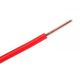 Fio Rígido Antichama 2,5mm Vermelho 750v Multimarcas-100 Mt