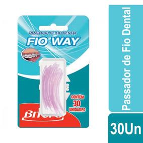 4039a2927 Passador Fio Dental Aparelho no Mercado Livre Brasil