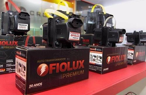 fiolux premium auto-transformador 3000va 110 220 e 220 110