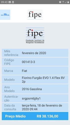 fiorino 1.4 flex 2016